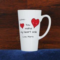 KUBEK You make my heart smile - Trafiony prezent