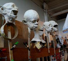 Anthony Janello's Studio by Jewett Art Gallery, via Flickr