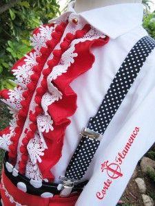 tirantes, corte flamenco, traje de gitano, traje de flamenco, traje de corto, feria de sevilla, feria de malaga, feria de cordoba, feria de Almeria (16)