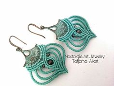 Hey, I found this really awesome Etsy listing at https://www.etsy.com/listing/539444801/macrame-micro-macrame-earrings-bohemian
