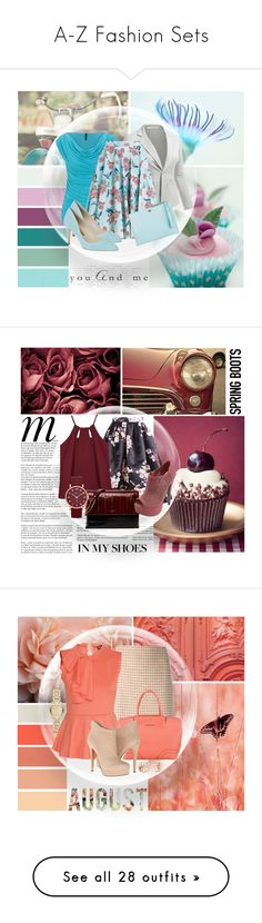 """""""A-Z Fashion Sets"""" by mmmartha ❤ liked on Polyvore featuring maurices, J.TOMSON, Hell Bunny, Cole Haan, Rupert Sanderson, Whiteley, TEM, Lanvin, Charlotte Russe and Seed Design"""
