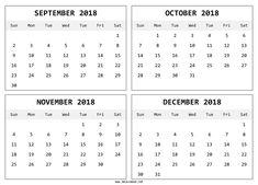 55 Best September 2018 Calendar Template Images Blank Calendar
