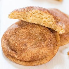 A good snickerdoodle is hard to come by and these are my favorites. Soft, slightly chewy, pillowy little puffs of goodness that I can't stay away from. I've always loved snickerdoodles and in high school and college used to work at a mall three stores down from Mrs. Field's. That was dangerous because it fueled my …