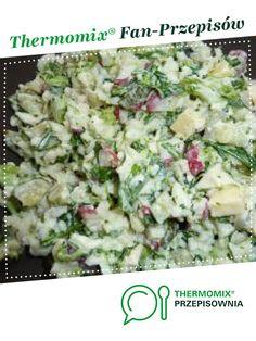 Letnia sałatka :-) jest to przepis stworzony przez użytkownika magi1. Ten przepis na Thermomix® znajdziesz w kategorii Przystawki/Sałatki na www.przepisownia.pl, społeczności Thermomix®. Potato Salad, Salads, Food And Drink, Potatoes, Ethnic Recipes, Grill, Thermomix, Chef Recipes, Cooking