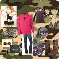 Cute Camo outfit! Just in time for hunting season!