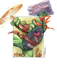 In The Spotlight – Teenage Mutant Ninja Turtles | Oculoid | Art & Design Inspiration