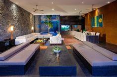 Living Spaces at Villa Mana, Canggu, Bali.