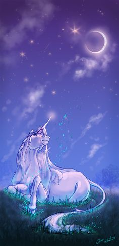 Most of the people in my life think that fantasy art is trivial and I will never make it as a freelance illustrator. Unicorn And Glitter, Real Unicorn, The Last Unicorn, Unicorn Horse, Unicorn Art, Unicorn And Fairies, Unicorn Fantasy, Unicorns And Mermaids, Fantasy Art