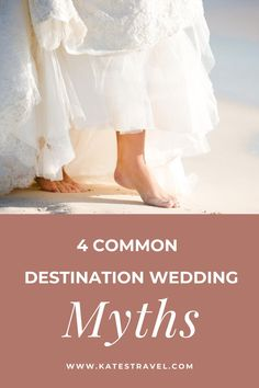 These are the most common destination wedding misconceptions. Click here for the real story behind these common destination wedding myths. #katestravel Romantic Destinations, Romantic Getaways, Travel Destinations, Foil Wedding Stationery, Honeymoon Getaways, Wedding Set Up, Beach Wedding Inspiration, Wedding Trends, Wedding Ideas
