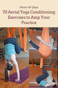 Looking to amp up your aerial yoga practice? Sprinkle in these conditioning exercises to gain strength and agility!