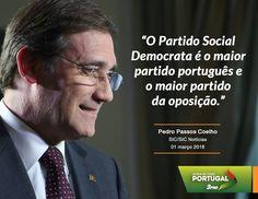 Pedro Passos Coelho, Presidente do Partido Social Democrata, em entrevista ao Jornal da Noite da SIC/SIC Notícias. #PSD #acimadetudoportugal
