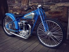 This is one of those bikes that instantly sets off a huge amount of want in almost all who see it, it's an original 1934 Crocker Speedway Racer and it's one