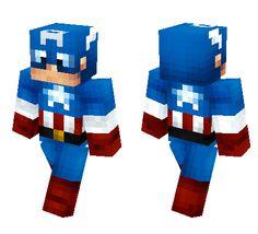 Captain America Minecraft skin ! #minecraft #minecraftskins http://www.minecraftxl.com/skin/captainamerica2/