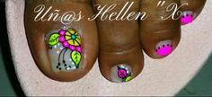 Pedicure Nail Designs, Pedicure Nails, Summer Toe Nails, Piglets, Toe Nail Art, Triangles, Hair And Nails, Tattoos, Beauty