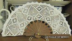 Crochet Quilt, Crochet Books, Filet Crochet, Knit Crochet, Japanese Crochet Patterns, Hair Ornaments, Crochet Accessories, Craft Items, Hand Fan