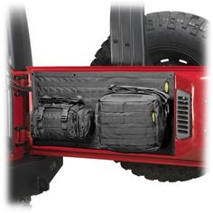 Smittybilt® G.E.A.R. Tailgate Cover for 07-up Jeep® Wrangler & Wrangler Unlimited JK