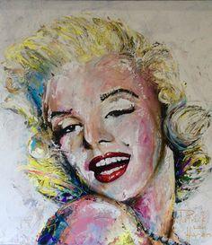 Patrick van Haren Schilderij Marilyn Monroe