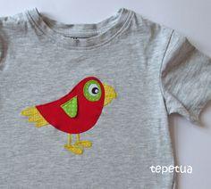 Papagei-Shirt