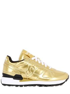 9e1f85b89dcc Shadow O  Metallic Leather Sneakers Leather Trainers