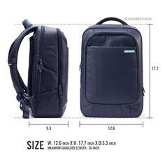 Amazon.com  Laptop Backpack, Spigen® 15 inch Laptop Backpack  New Coated  Backpack   Black  Water Resistant Laptop Bag (fits up to 15 inch Laptop) -  Black ... a91814b000