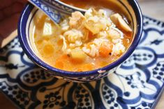 Chicken and Rice Soup from Morocco | 29 Of The Most Satisfying Iftar Foods From Around The World