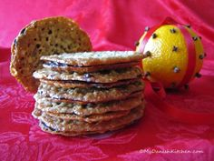 12 Days of Christmas - Florentine Cookies