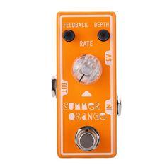 The Tone City Summer Orange Phaser