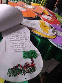 """Lindo projeto """"Cantigas de roda"""" desenvolvido pela professora Layrha Santos e sua turminha. Parabéns pelo capricho e criatividade! ..."""