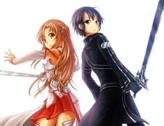 Asuna & Kirito - By Sword Art Online ღ