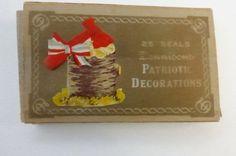 Antique Dennison George Washington Patriot by papertales on Etsy, $4.75