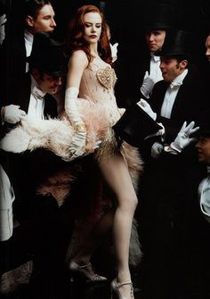Nicole Kidman in Moulin Rouge... the only musical that I enjoy!
