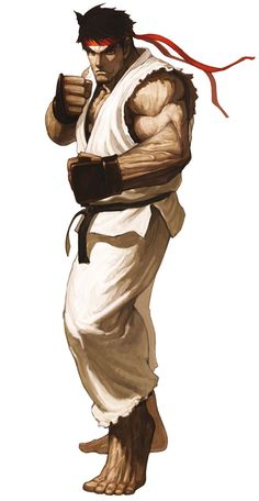 SNK vs. Capcom SVC Chaos Game Character Official Artwork Render Ryu