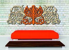 Mirror Wall Clock, Fa, Wall Stickers, Decorations, Image, Wall Clings, Wall Decals, Dekoration, Ornaments