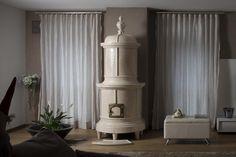 Sissi Wood Burner Stove, Sissi, Curtains, Terra, Design, Home Decor, Houses, Trendy Tree, Blinds