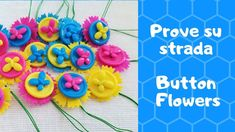 Prove su strada: Button Flowers di Tiger #provesustrada #tiger #button #flowers #kit