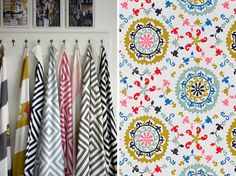Lula Fabrics available from Belong Interiors