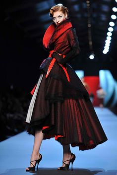 Christian Dior    I used to want a black or red wedding dress.