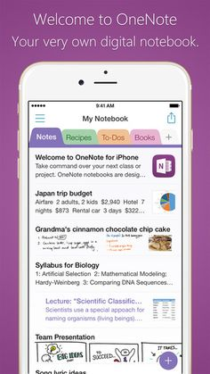 How I Organize My Day - Grace, Faith, and Glitter | Microsoft OneNote App