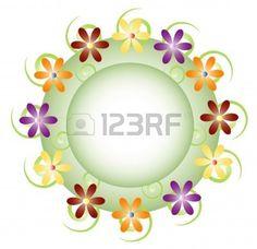 Botón de flores  Foto de archivo