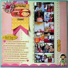 Birthday Cheer - Scrapbook.com
