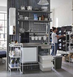 Ikea freistehende Küche Katalog-Beispiel