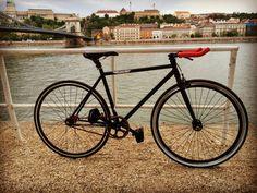 Fixed gear bike Budapest