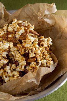 Caramel Almond Popcorn – Recipe - Relish - Free Recipes, Cooking Videos & Articles