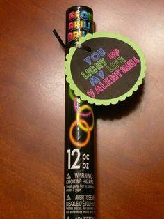 Imperfect & Fabulous: Glow Bracelet Valentines & FREE Printable
