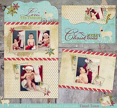 Tinsel Town Holiday Template from My Lil' Creations!!  Love her work!