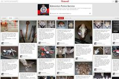 The Edmonton Police Service (EPS) launched a Pinterest page on Wednesday as a tool to return stolen property to the rightful owners. http://globalnews.ca/news/1024154/edmonton-police-join-pinterest/