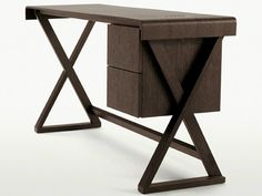 Descarga el catálogo y solicita al fabricante Sidus | escritorio By maxalto, escritorio de madera maciza con cajones diseño Antonio Citterio, Colección sidus