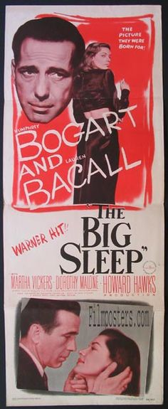 BIG SLEEP, THE (The Big Sleep) Movie Poster (1946)
