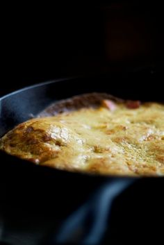 A Recipe for Winter: Apple & Spice Dutch Baby Pancake  Read more: http://nourishedkitchen.com/dutch-baby-pancake-recipe/#ixzz2gnA6Hywh