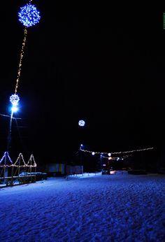 снежная улица - null